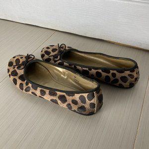 NICE Scoop NYC Leopard Print Ballet Flats …